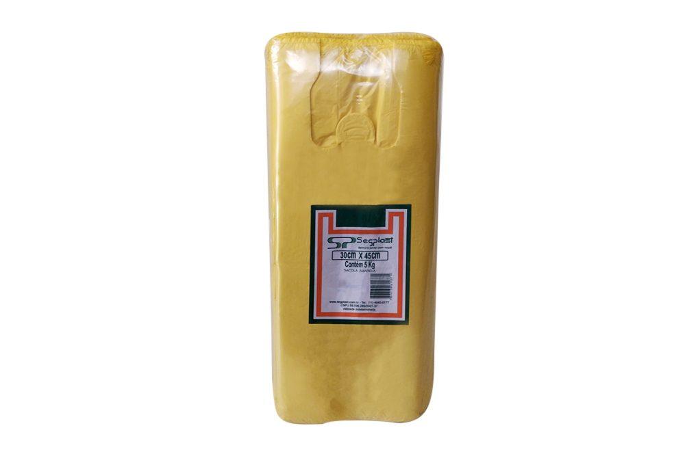 Sacola Amarela Reforçada – KG